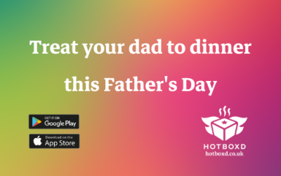 Treat dad to a delicious take-away this Father's Day